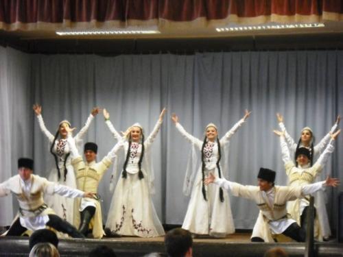 2012.08.11. Dagesztán néptánc csoport fellépése Vécsen